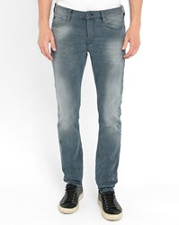 Scotch And Soda Grey Blue Ralston Slim Fit Jeans