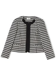 Precis Petite Daena Houndstooth Jacket Multi Coloured