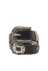 Forever 21 Concho Faux Leather Belt