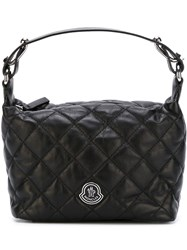 Moncler Quilted Tote Black