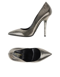 Grey Mer Pumps Platinum