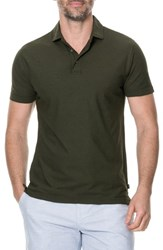 Rodd And Gunn Wilsons Bay Sports Fit Polo Olive