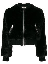 Zadig And Voltaire Fashion Show Cropped Jacket Black