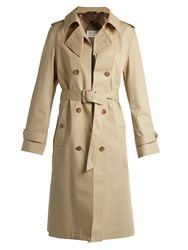 Maison Martin Margiela Water Repellent Trench Coat Beige