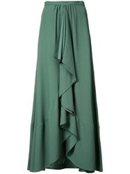 Tome Pleated Skirt Women Acetate Viscose 2 Green