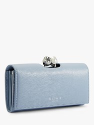 Ted Baker Solange Leather Matinee Purse Mid Blue