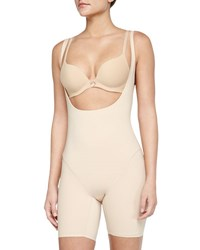 Wacoal Smooth Complexion Open Bust Mid Thigh Shaper Naturally Nude