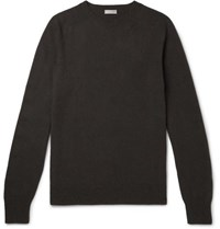 Margaret Howell Cotton And Cashmere Blend Sweater Gray
