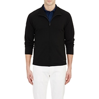 Z Zegna Techmerino Track Jacket Black