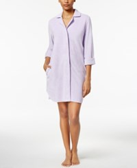 Charter Club Snap Front Terry Robe Only At Macy's Summer Lilac