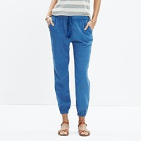 Madewell Shorewalk Cover Up Pants Bengali Indigo