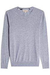 Burberry London Cashmere Pullover Grey