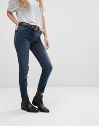 Lee Scarlett High Waist Skinny Jeans Raven Blue