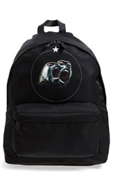 Men's Givenchy 'Monkey Brothers' Backpack Black