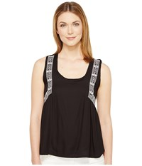 Rock And Roll Cowgirl Sleeveless Tank Top B5 1283 Black Women's Sleeveless