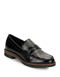 Dolce Vita Aidan Leather Loafers Black