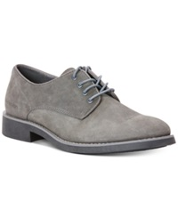 Calvin Klein Jeans Massey Suede Oxfords Men's Shoes Dark Grey