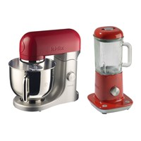 Kenwood Kmix Iconic Table Mixer With Free Table Blender Raspberry Kmx51