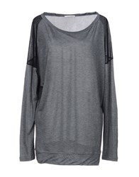 Gas Jeans T Shirts Grey