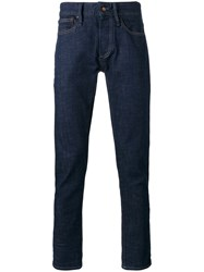 Denham Jeans Razor Men Cotton Spandex Elastane 32 32 Blue
