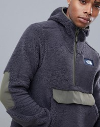 The North Face Campshire Pullover Hoodie In Black