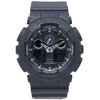 G Shock Casio Ga 100Cg 2Aer 'Cracked Ground' Watch Blue