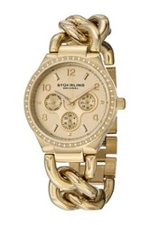 Stuhrling Women's Lady Renoir Shine Watch Metallic