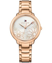 Tommy Hilfiger Women's Rose Gold Tone Bracelet Watch 36Mm 1781780 A Macy's Exclusive Style