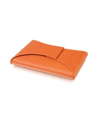 Giorgio Fedon Dynamic Business Card Holder Orange