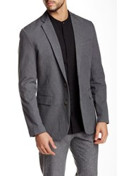 Shades Of Grey Two Button Blazer Gray