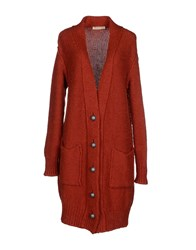 Appartamento 50 Knitwear Cardigans Women Rust
