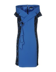 Bagatelle Knee Length Dresses Blue