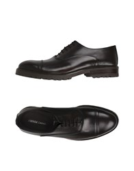 Pierre Darre Lace Up Shoes Dark Brown