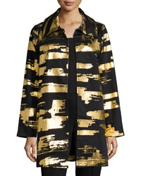 Berek Golden Glow Long Drama Jacket Plus Size Black