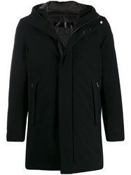 Rrd Feather Down Parka Coat Black