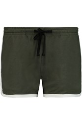 James Perse Jersey Shorts Green