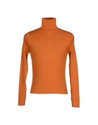 Guess By Marciano Turtlenecks Orange