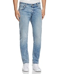 Rag And Bone Standard Issue Fit 2 Slim Fit Jeans In Acid Blue