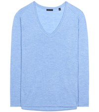 Atm Anthony Thomas Melillo Cashmere Sweater Blue