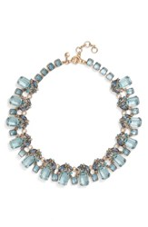 J.Crew J. Crew Glass Bead Necklace Seacoast Blue