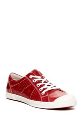 Josef Seibel Lilo 13 Leather Sneaker Red
