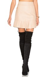 Bardot Frayer Skirt Blush