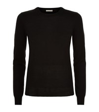 Burberry Brit Elbow Patch Merino Jumper Female Black