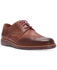 Donald J Pliner Men's Edd Wingtip Oxfords Men's Shoes Brown
