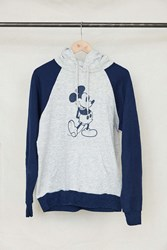 Urban Renewal Vintage Mickey Mouse Raglan Sleeve Hoodie Sweatshirt Assorted