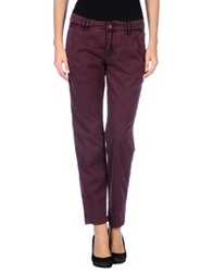 Drykorn Casual Pants Deep Purple