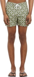 Parke And Ronen Byzantine Army Print Swim Trunks Multi