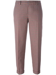 Dsquared2 Slim Plaid Trousers