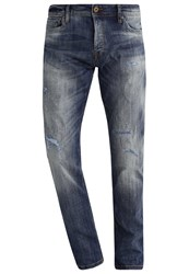 Jack And Jones Jjiglenn Slim Fit Jeans Blue Denim