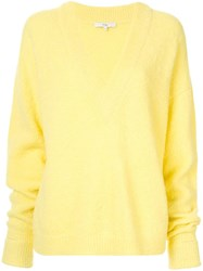Tibi Airy Jumper Yellow